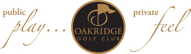 slogan oakridge golf